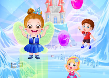 Play Baby Hazel Frozen Adventure online - Screenshot 2