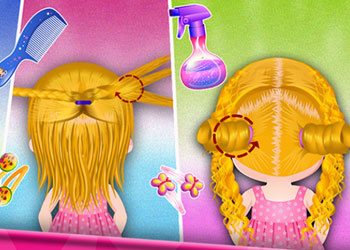 Play Baby Hazel Hair Day online - Screenshot 1