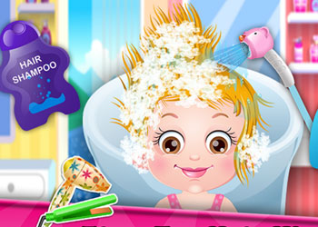 Play Baby Hazel Hair Day online - Screenshot 2