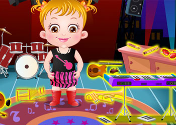 Play Baby Hazel Musical Melody online - Screenshot 2