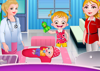 Play Baby Hazel Newborn Vaccination online - Screenshot 2