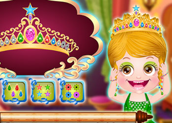 Play Baby Hazel Princess Makeover online - Screenshot 1