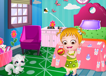 Play Baby Hazel Princess Makeover online - Screenshot 2