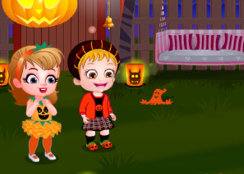 Play Baby Hazel Pumpkin Party online - Screenshot 1