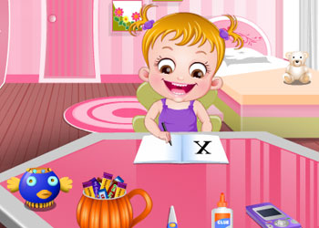 Play Baby Hazel Pumpkin Party online - Screenshot 2