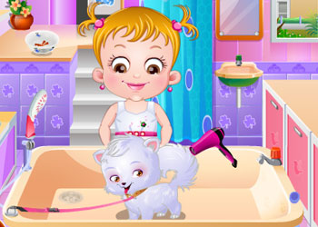 Play Baby Hazel Puppy Care online - Screenshot 1