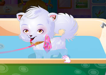 Play Baby Hazel Puppy Care online - Screenshot 2