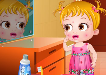Play Baby Hazel Skin Trouble online - Screenshot 1