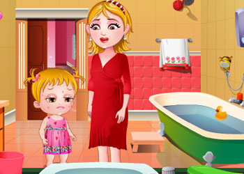 Play Baby Hazel Skin Trouble online - Screenshot 2