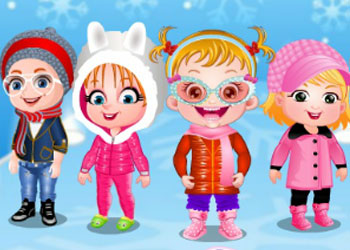 Play Baby Hazel Winter Fashion online - Screenshot 1