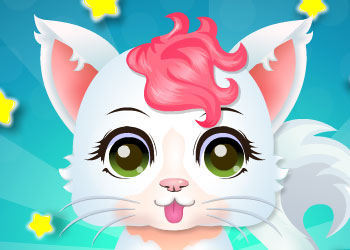 Play Baby Kitty Salon online - Screenshot 1