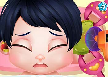Play Baby Snow Sick Day online - Screenshot 1