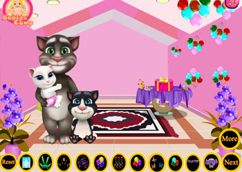 Play Baby Tom Birthday Party online - Screenshot 1