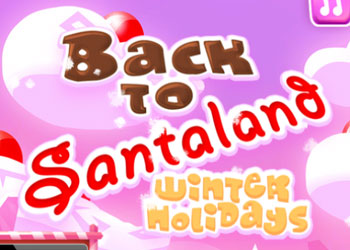 Play Back to Santaland: winter holidays online - Screenshot 1