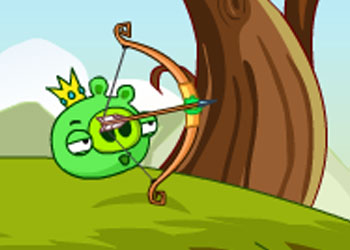 Play Bad Pig Defense online - Screenshot 1