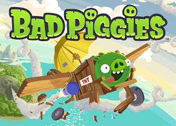 Play Bad Piggies HD online - Screenshot 1