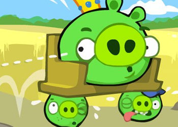 Play Bad Piggies HD 2 online - Screenshot 1