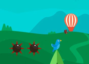 Play Balloon crazy adventure online - Screenshot 2