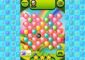 Play Balloons Path Swipe online - Screenshot 1