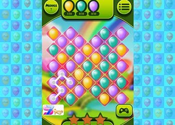 Play Balloons Path Swipe online - Screenshot 2