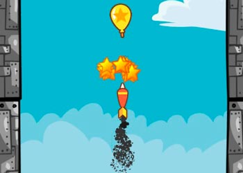 Play Balloons pop online - Screenshot 2