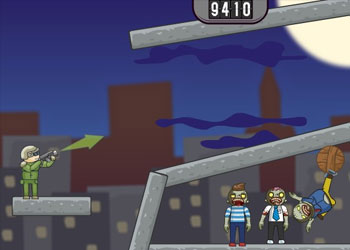 Play Balloons Vs Zombies online - Screenshot 2