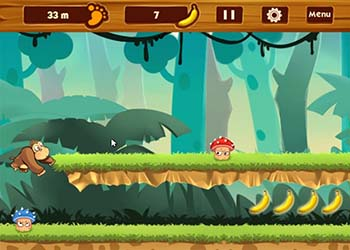 Play Banana Jungle online - Screenshot 1