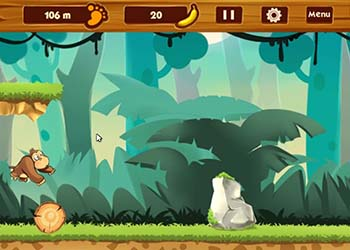 Play Banana Jungle online - Screenshot 2