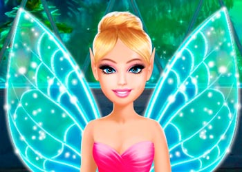 Play Barbara and her friends' fairy party online - Screenshot 1