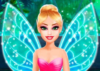 Play Barbara and her friends' fairy party online - Screenshot 2