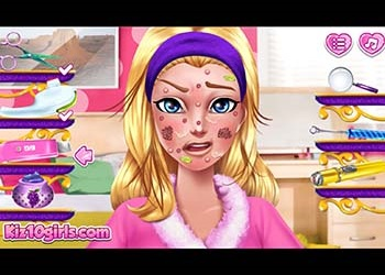 Play Barbara Hero Face Problem online - Screenshot 1