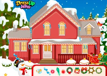 Play Barbie and Ken Christmas online - Screenshot 1