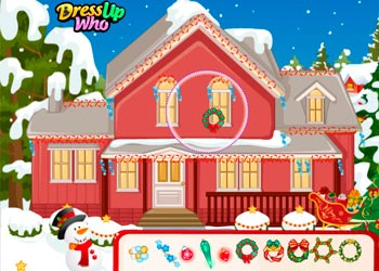Play Barbie and Ken Christmas online - Screenshot 2