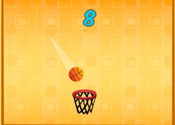 Play Basket ball challenge flick the ball online - Screenshot 1