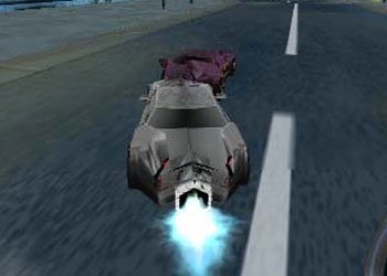Play Batman Dark Race online - Screenshot 1