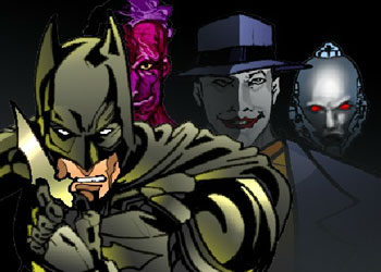 Play Batman Dress Up online - Screenshot 1