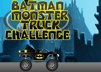 Play Batman Monster Truck Challenge online - Screenshot 1