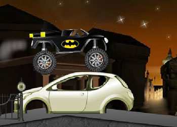 Play Batman Monster Truck Challenge online - Screenshot 2