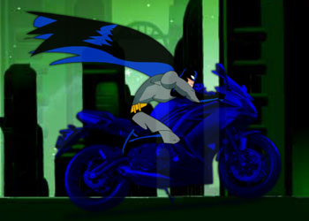 Play Batman Thrill On Wheels 3D online - Screenshot 1