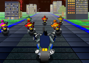Play Batman Thrill On Wheels 3D online - Screenshot 2
