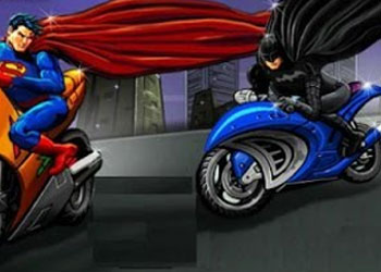 Play Batman Vs Superman Race online - Screenshot 1