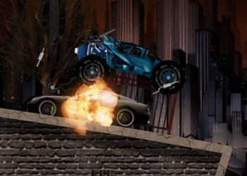 Play Batmobile Ride online - Screenshot 2