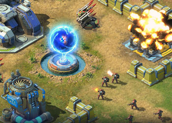 Play Battle For the Galaxy online - Screenshot 2