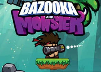 Play Bazooka and Monster online - Screenshot 1