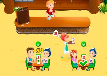 Play Beach bar online - Screenshot 2