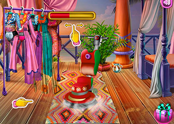 Play Beach House Cleaning online - Screenshot 1
