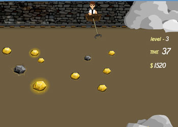 Play Ben10 Gold Miner online - Screenshot 1