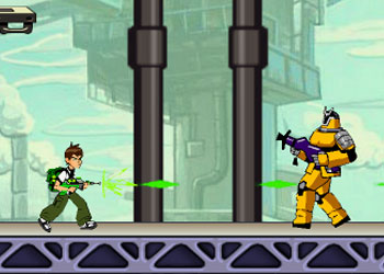 Play Ben 10 Aliens Kill Zone online - Screenshot 2