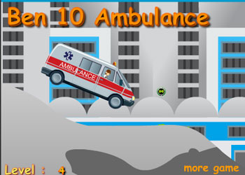 Play Ben 10 Ambulance online - Screenshot 1