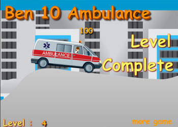 Play Ben 10 Ambulance online - Screenshot 2